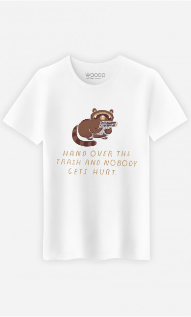 Man T-Shirt Raccoon