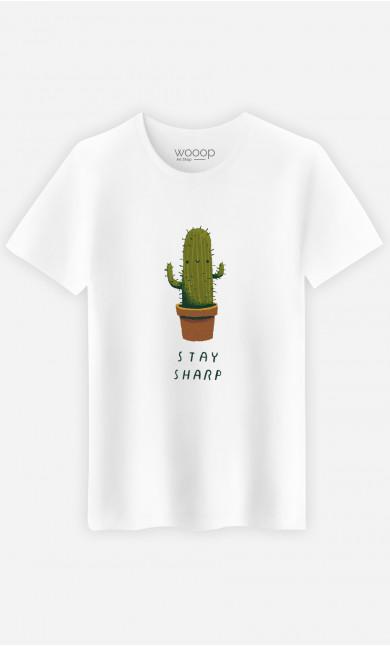 Man T-Shirt Stay Sharp