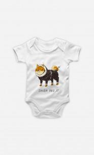 Baby Bodysuit Shiba Inuit