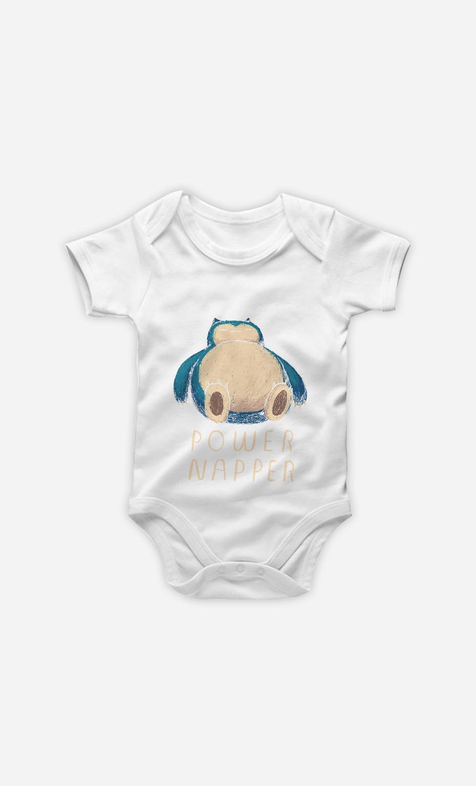 Baby Bodysuit Power Napper