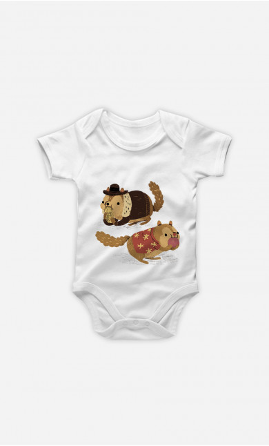 Baby Bodysuit Chip And Dale