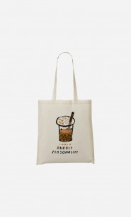Tote Bag Bubble Tea