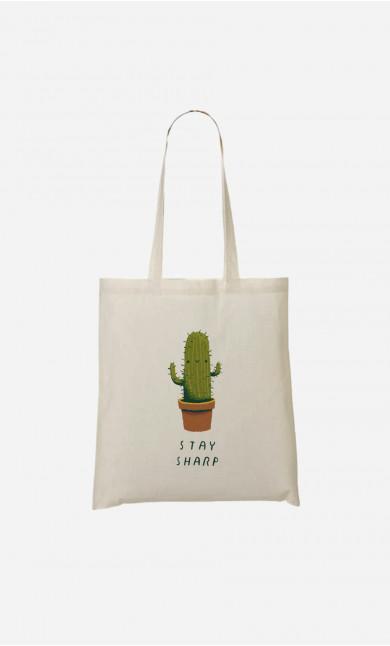 Tote Bag Stay Sharp