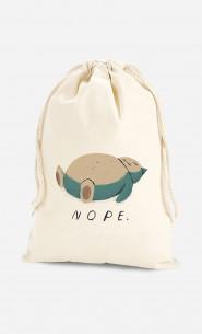 Cotton Bag Nope