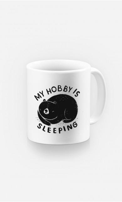 Mug My Hobby Is Sleeping