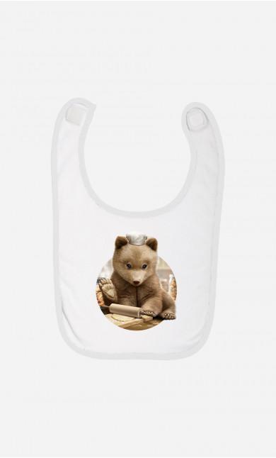 Baby Bib Chef Bear