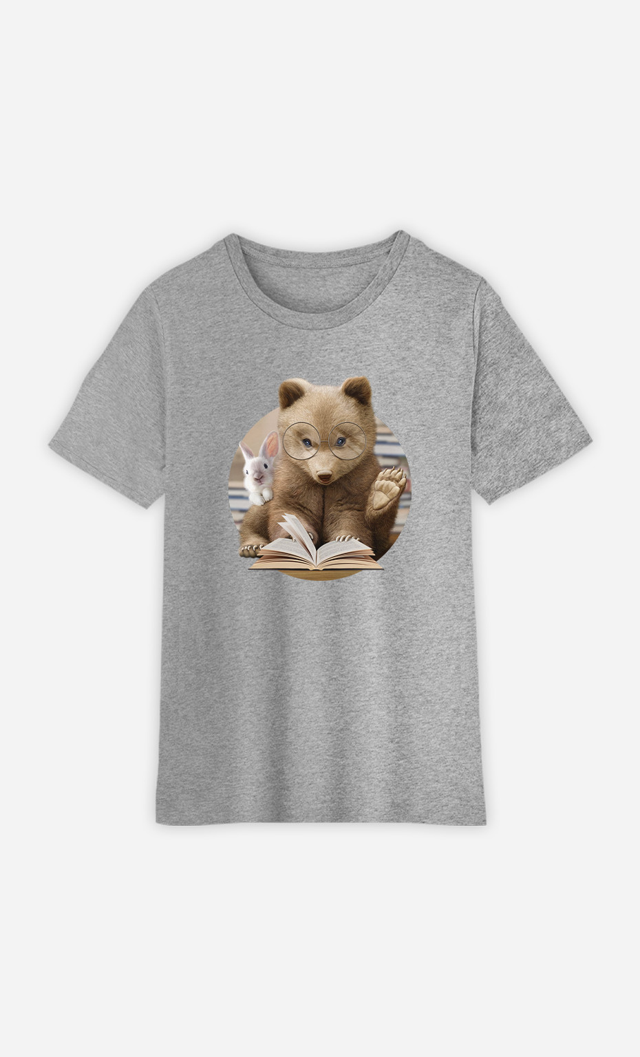 Kid T-Shirt Reading Time