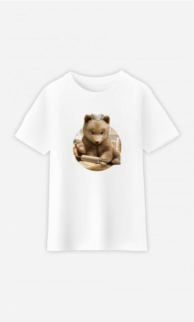 Kid T-Shirt Chef Bear