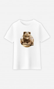 Kid T-Shirt Chef Bear