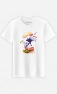 Man T-Shirt Kanagawa Burger