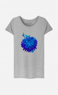 Woman T-Shirt Sea Flower
