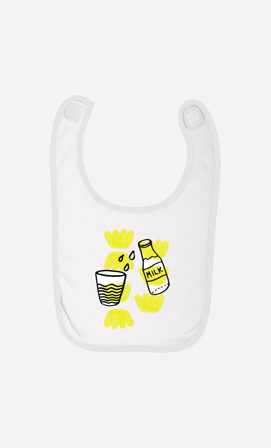 Baby Bib Milk