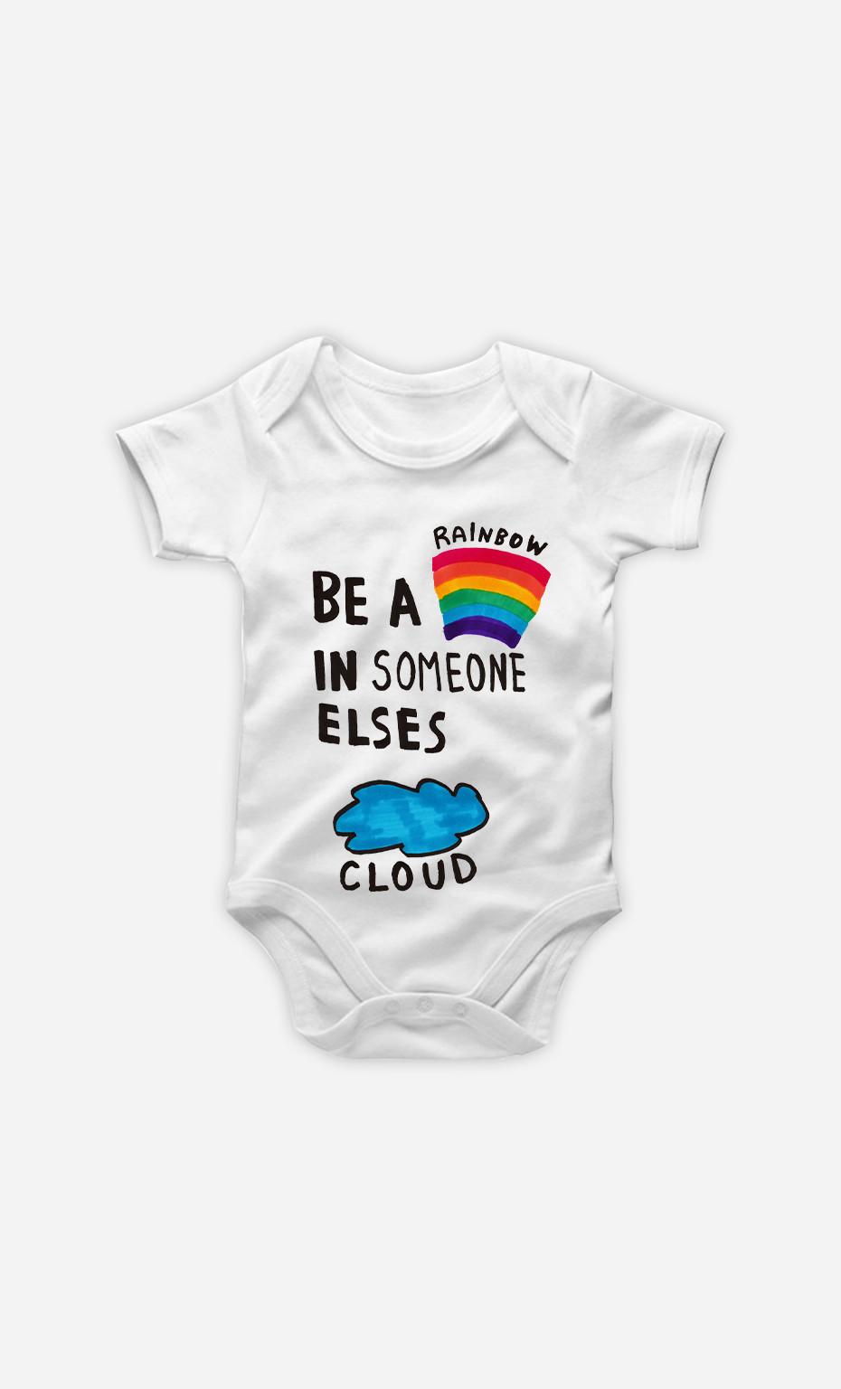 Baby Bodysuit Be A Rainbow