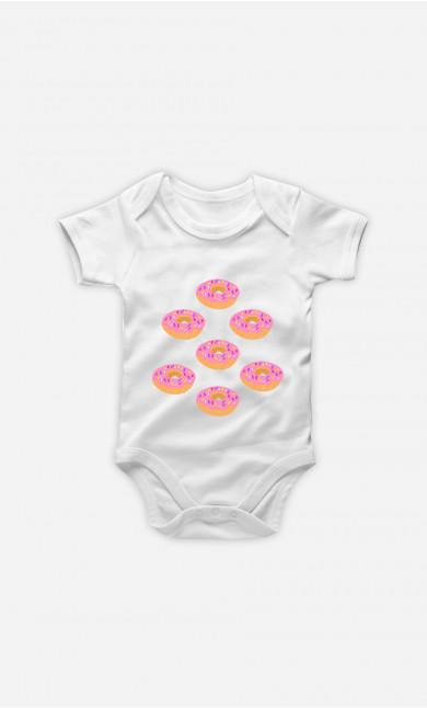 Baby Bodysuit Donuts