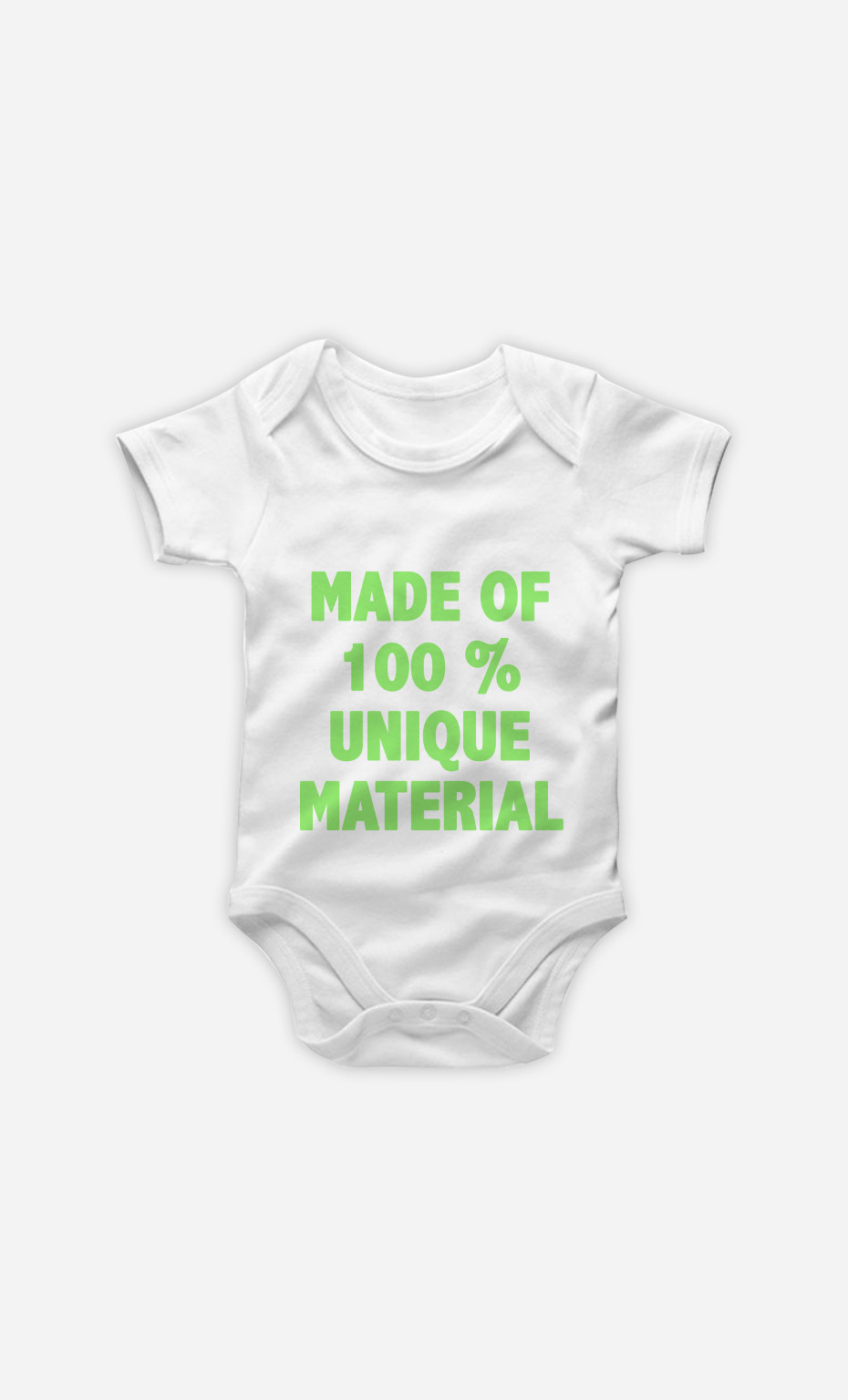 Baby Bodysuit Made Of 100% Unique Material