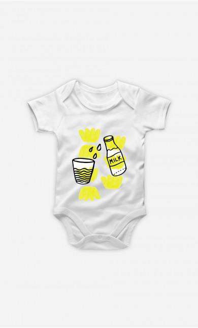 Baby Bodysuit Milk