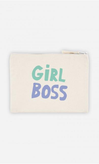 Cotton Pouch Girl Boss