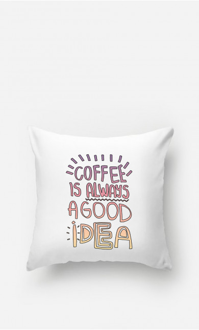 Pillow Coffee Is Always A Good Idea
