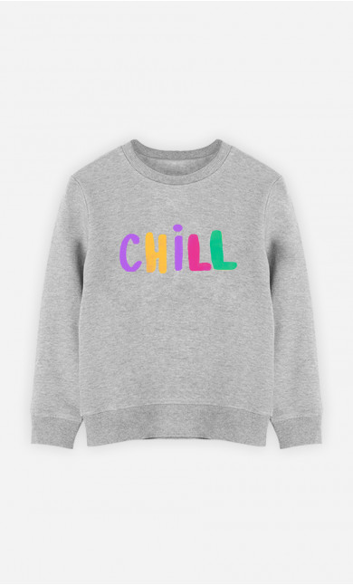 Kid Sweatshirt Chill