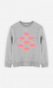 Kid Sweatshirt Donuts
