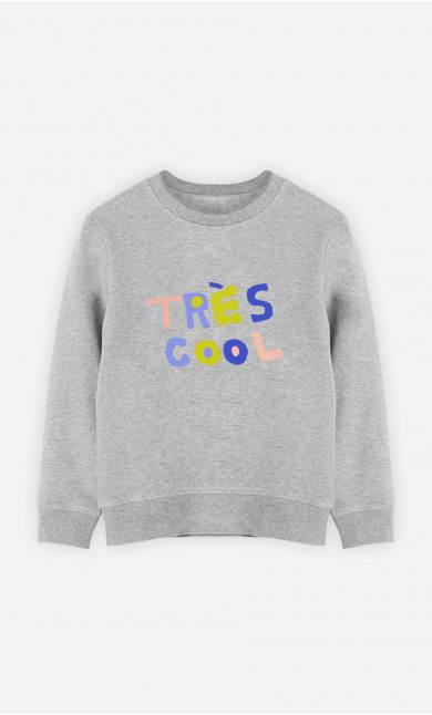Kid Sweatshirt Très Cool