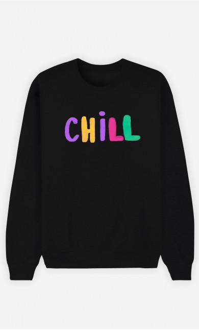Man Sweatshirt Chill