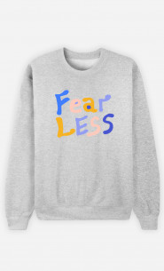 Man Sweatshirt Fear Less