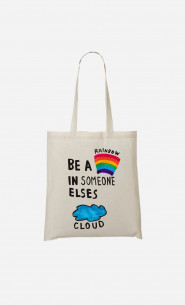 Tote Bag Be A Rainbow