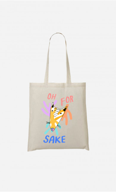 Tote Bag For Fox Sake