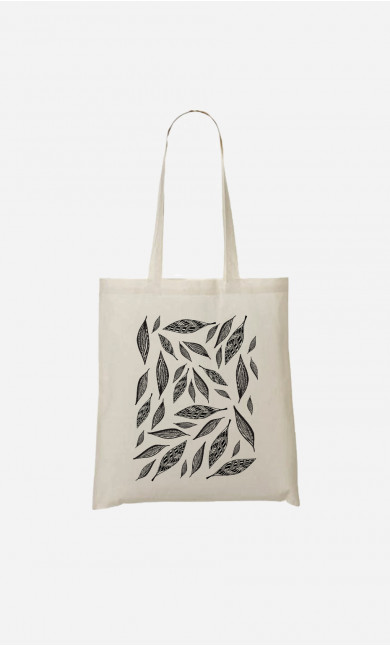 Tote Bag Graphic Feathers