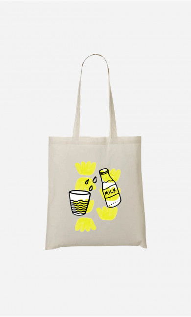 Tote Bag Milk