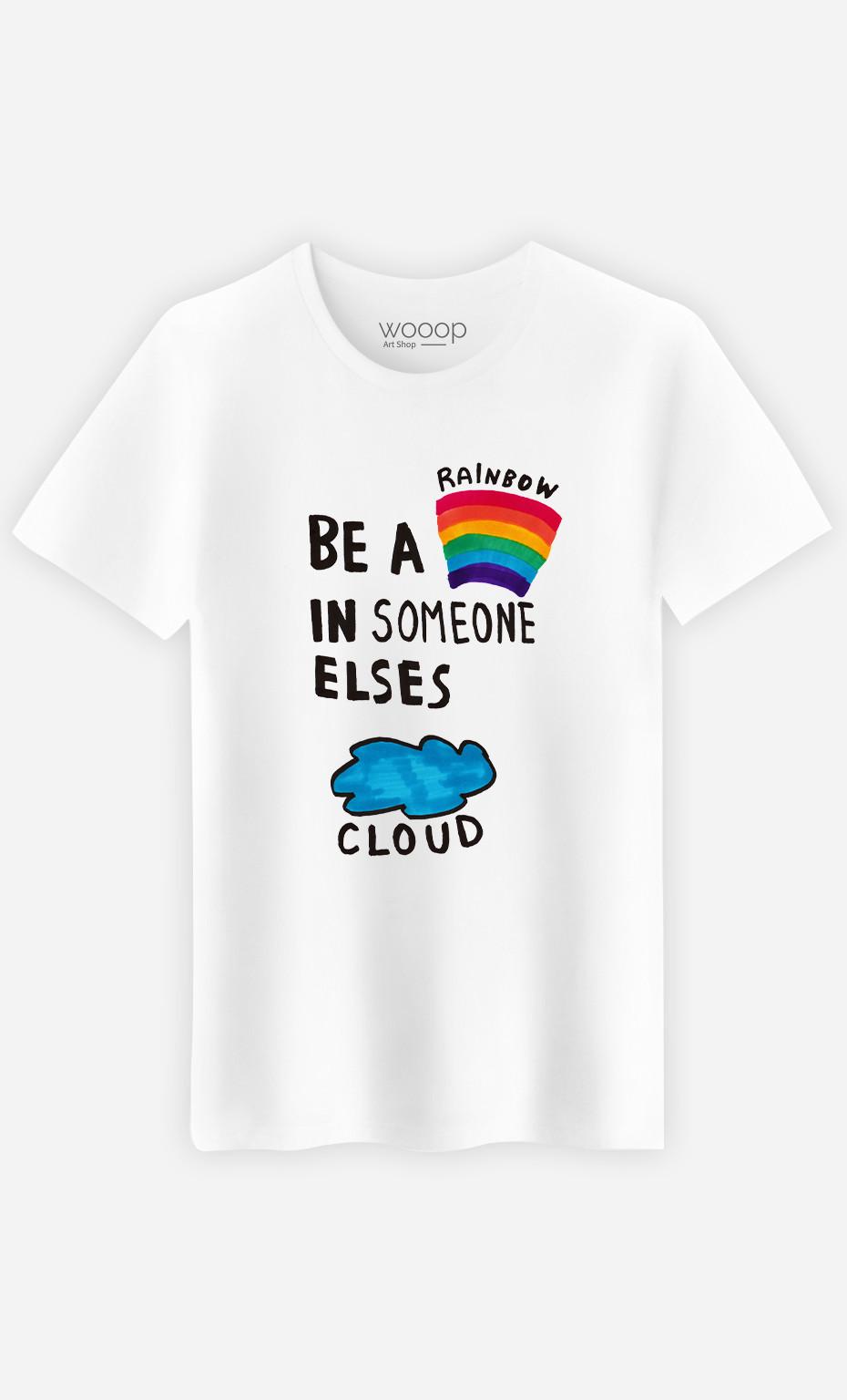 Man T-Shirt Be A Rainbow