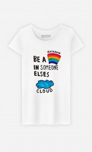 Woman T-Shirt Be A Rainbow