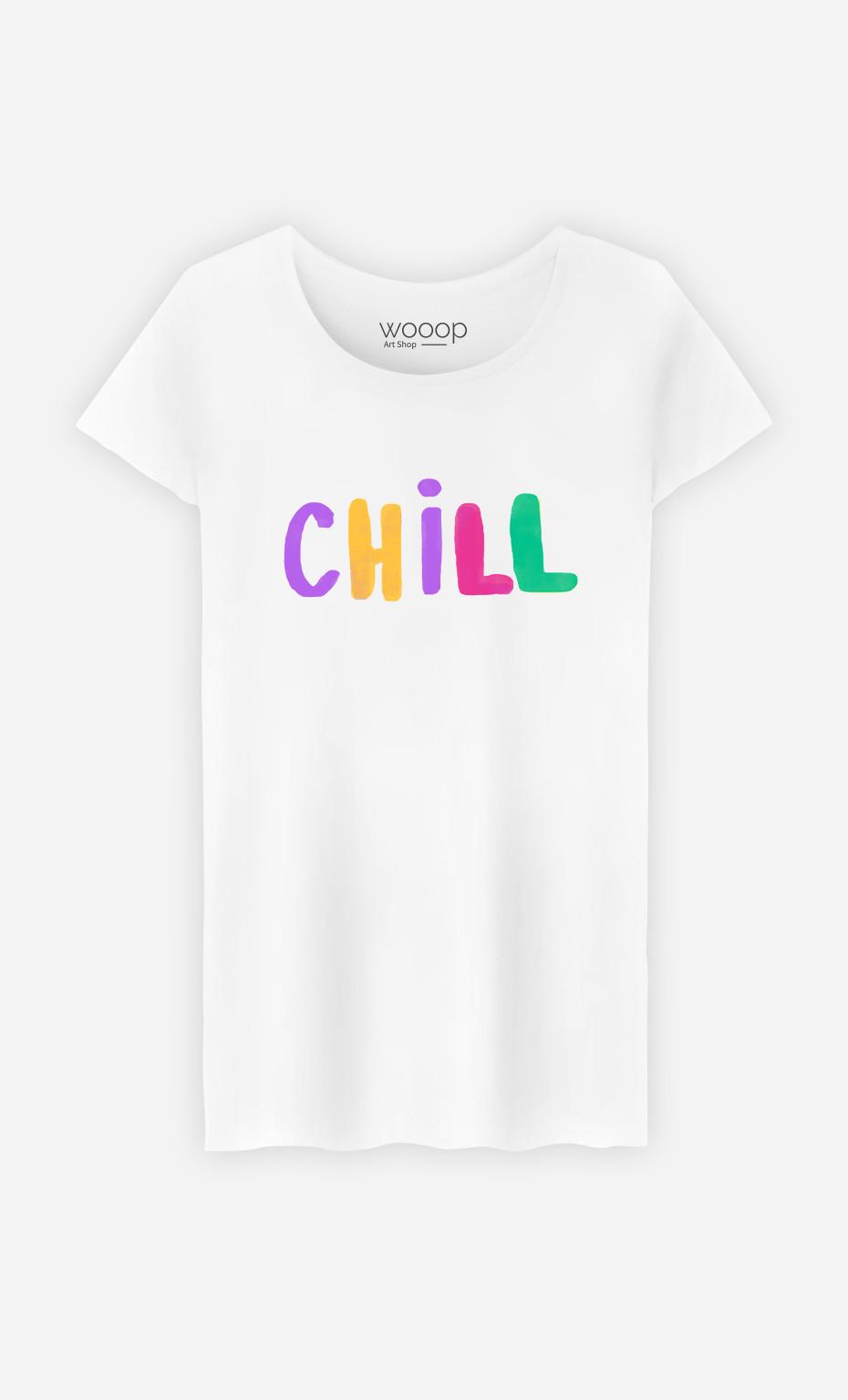 Woman T-Shirt Chill