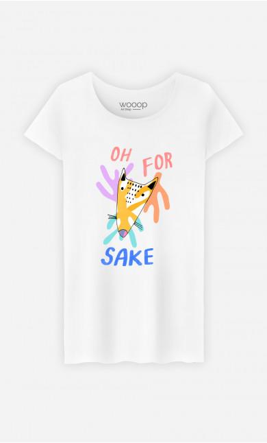 Woman T-Shirt For Fox Sake
