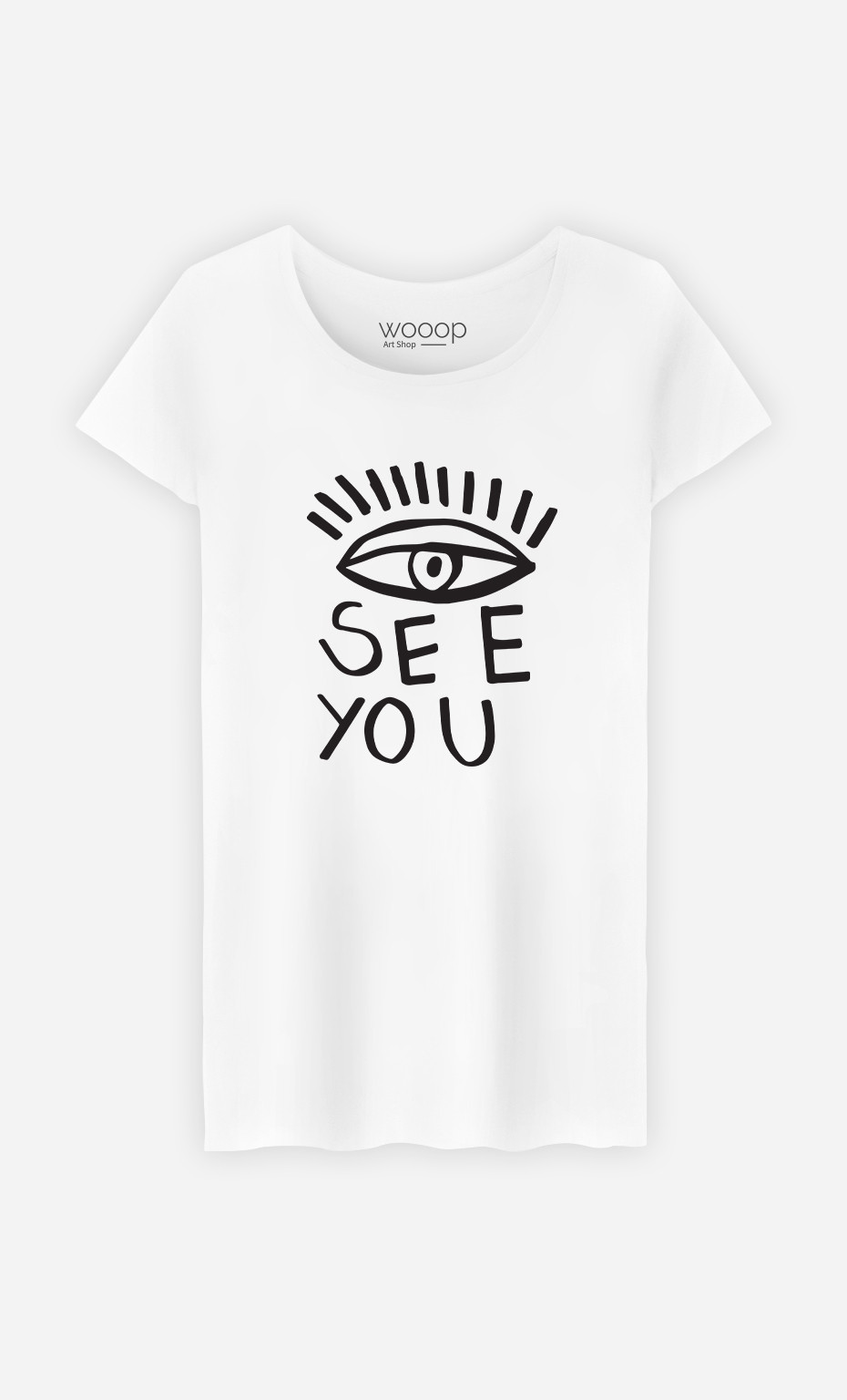 Woman T-Shirt See You