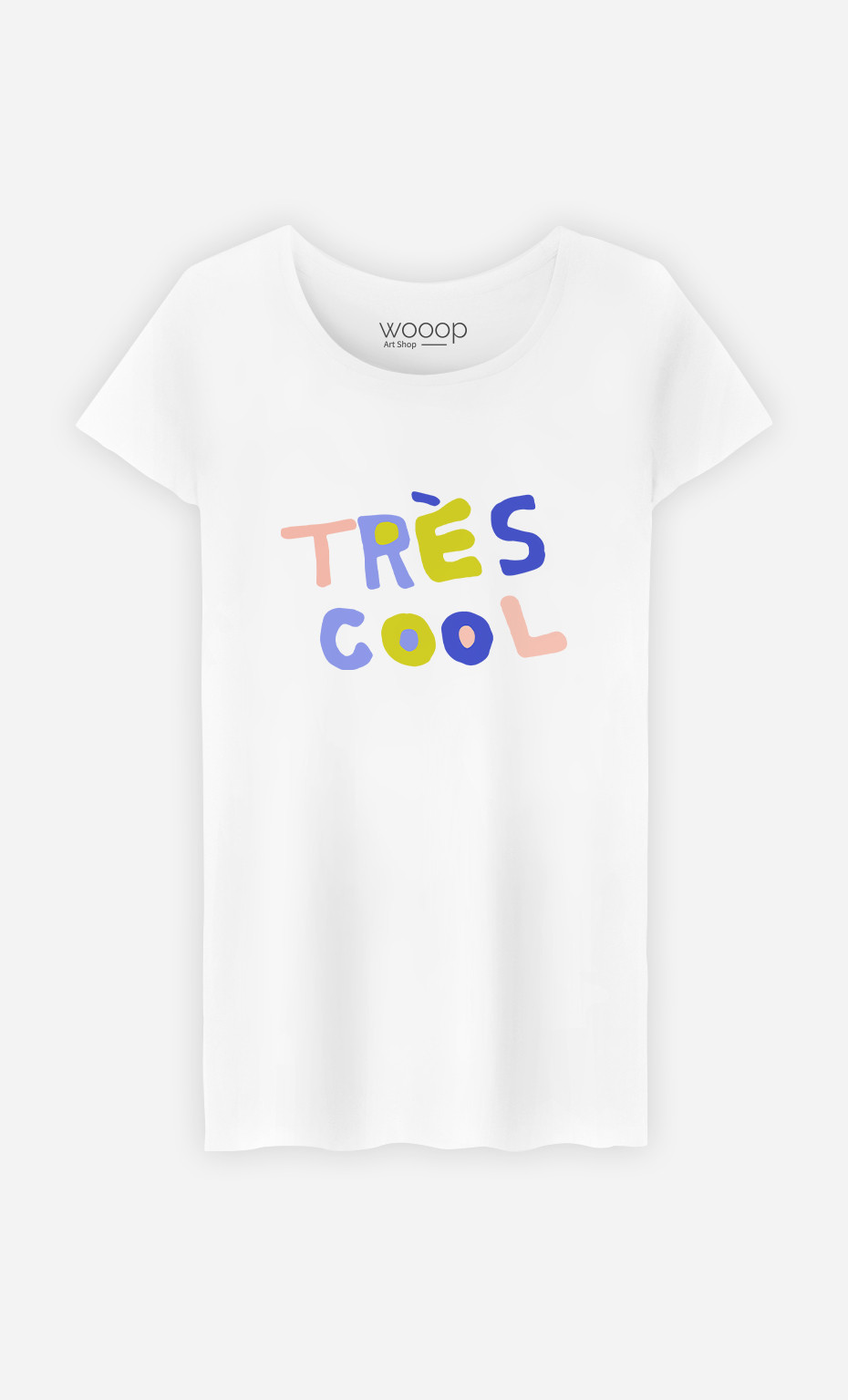 Woman T-Shirt Tres Cool