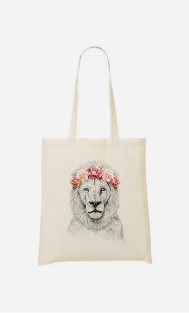 Tote Bag Lion Spring