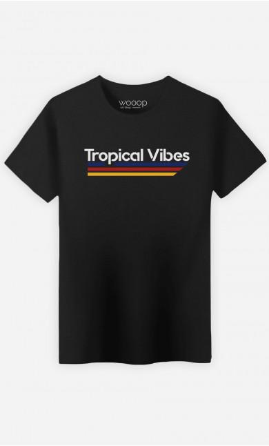 Man T-Shirt Tropical Vibes