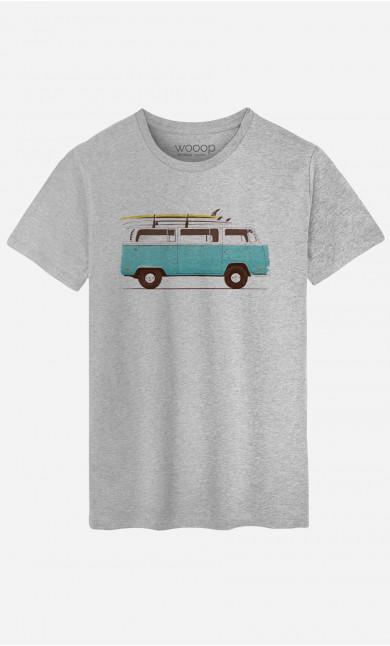 Man T-Shirt Blue Van