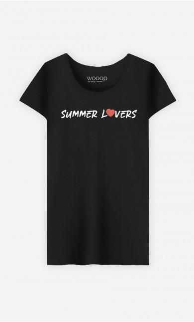Woman T-Shirt Summer Lovers